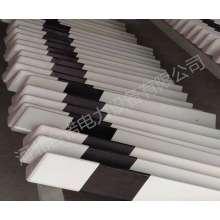 三角立柱式反光轮廓标 高速公路玻璃钢轮廓桩 片式复合材料PVC双面黄白轮廓标